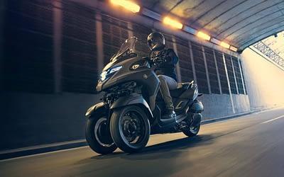 Le Tricity 300 de Yamaha arrive bientôt