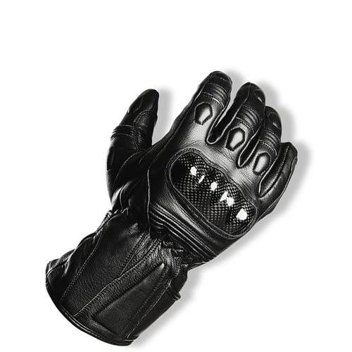 un gant moto d'hiver