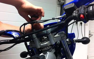 Comment démonter le guidon de sa moto ?