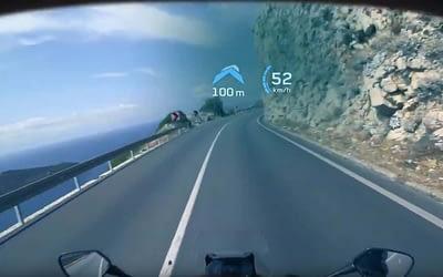 Eyeslight, le GPS intégré à votre casque de moto : le futur est déjà là !