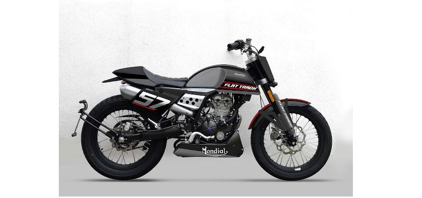 une moto fb mondial flat track