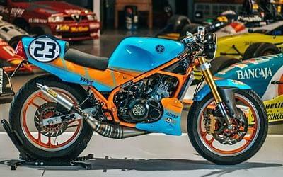 Une moto RD 350 de Yamaha signée Bolt Motor