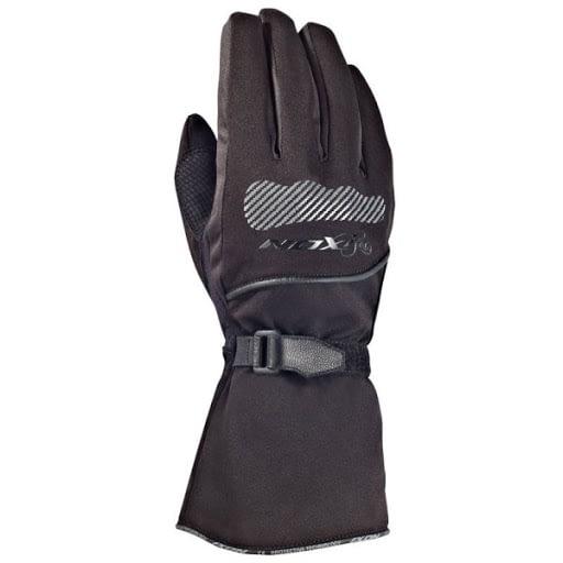 un gant moto en textile