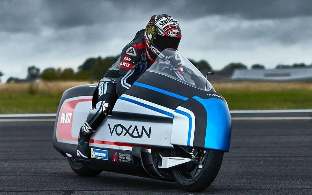 la moto électrique voxan wattman