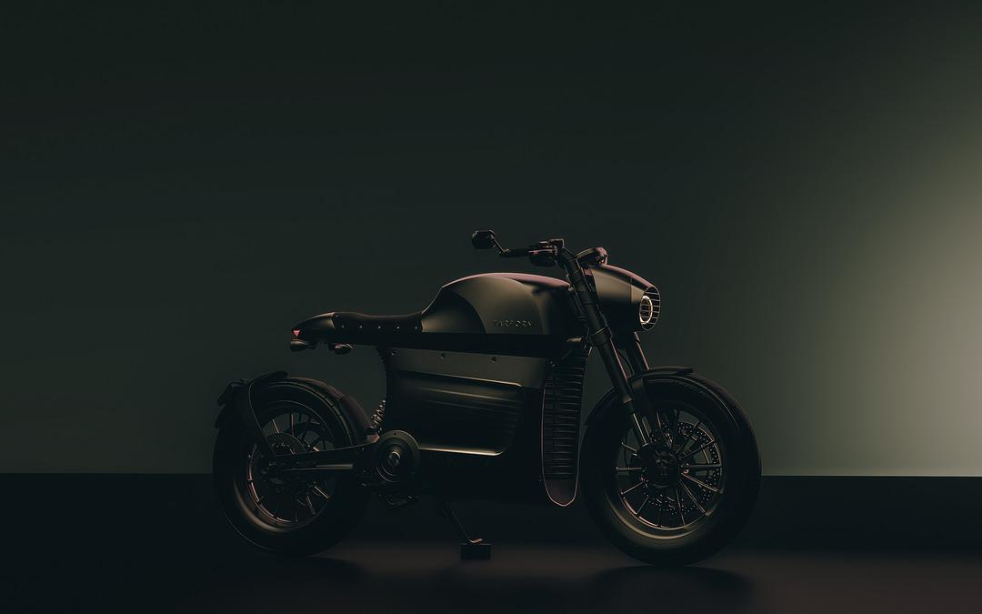 la moto électrique tarform luna