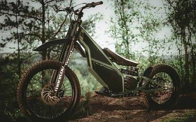 La Kuberg Ranger : une hybride trottinette tout-terrain et motocross électrique