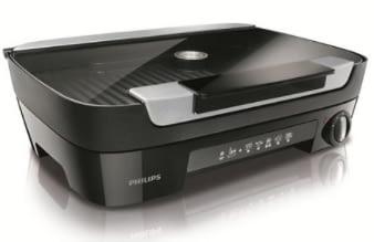 La plancha Philips HD6360/20 grill à infusion de saveurs